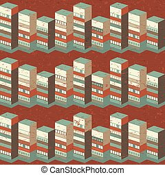 Architectural Seamless Pattern