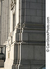 Architectural side of building