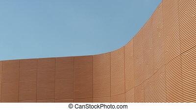 architectural, vague, béton, modèle