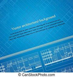 Architecture background blueprint