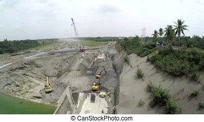 architecture, barrier, building, concrete, construction,...