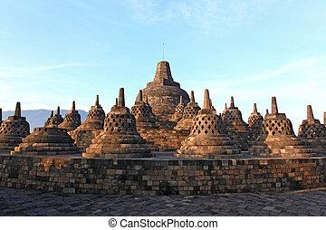 Borobudur Temple Stupa Ruin