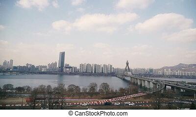Architecture. Bridges of the city of Seoul. South Korea