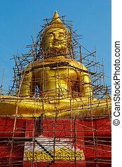 Architecture buddhist artwork