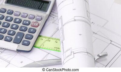Architecture composition with calculator turning