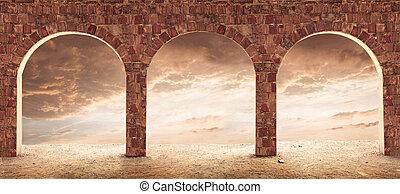 Architecture conceptual image.