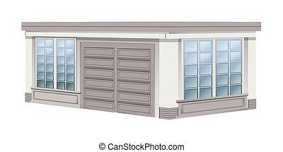 Architecture design for garage
