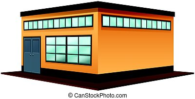 Architecture design for  square building