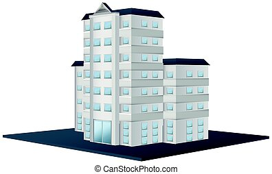 Architecture design for tall building