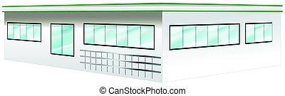 Architecture design for wide building