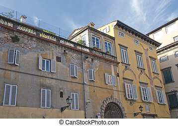 Architecture Detail in Lucca