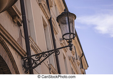 Architecture details from old historical building in Padova 2