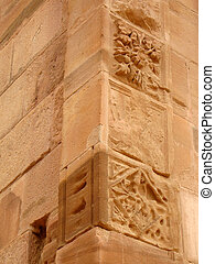 Architecture details in Petra