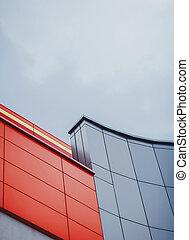Architecture details modern building