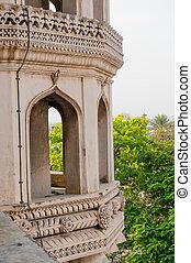 architecture details of Charminar Hyderabad