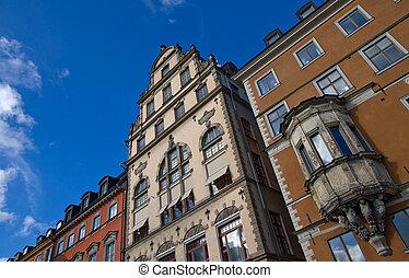 architecture., européen