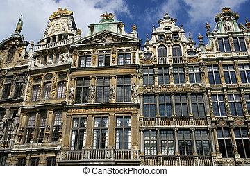 La Grand-Place - Architecture from La Grand-Place in ...