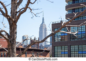 Architecture from the High Line - The view from New York ...