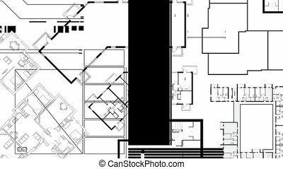 Architecture Graphics Mono HD - Random, blinking, animated...