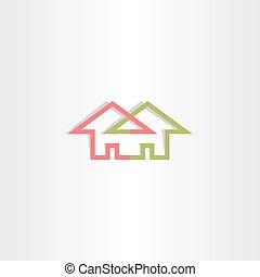 architecture house logo vector icon home