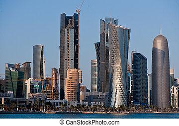 Architecture in Doha Qatar