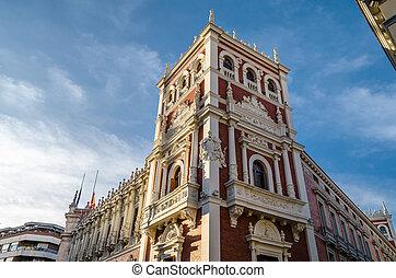 Architecture in Palencia, Spain