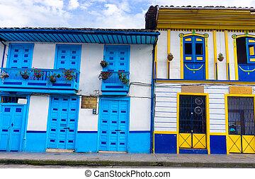 Architecture in Salento - Colorful colonial architecture in ...