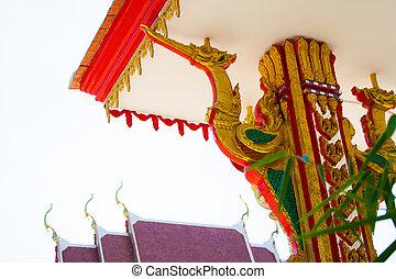 architecture in temple