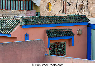 Architecture in the Marrakech Medina