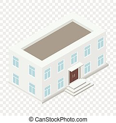 Architecture isometric house