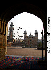 Architecture - Masjid Wazir Khan architecture