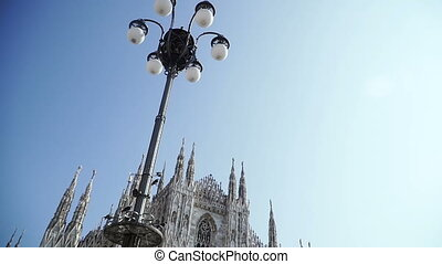 Architecture. Milan Cathedral