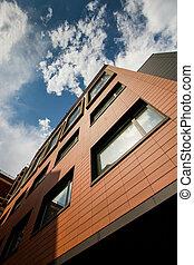 architecture, moderne, bureaux