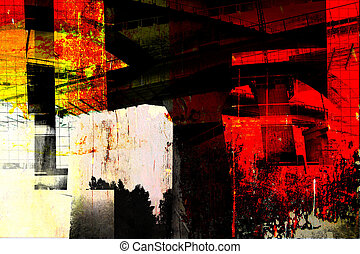 architecture moderne, -, résumé, composition