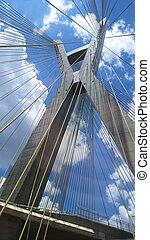 architecture., modernos, bridges.