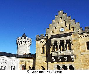Architecture Neuschwanstein castle