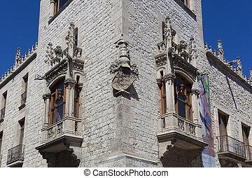 Architecture of Burgos, Castilla y Leon, Spain