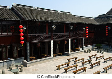 Architecture of Chinese pavilion