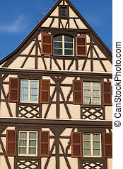 Architecture of Colmar, Haut-Rhin, Grand Est, France