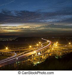 Architecture of highway constructio