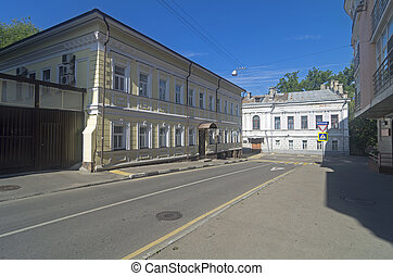 Architecture of old Moscow - The architecture of old Moscow...
