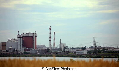Architecture of power stations - A huge body of nuclear...