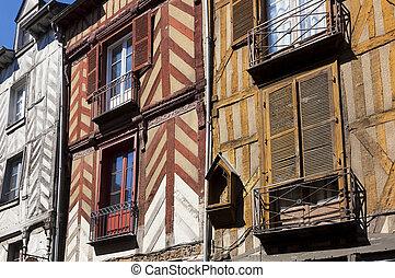 Architecture of Rennes, Britanny, France