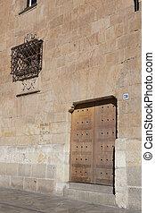 Architecture of Salamanca, Castilla y Leon, Spain