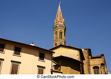 Architecture of the historic centre of Florence, Italy. UNESCO world heritage