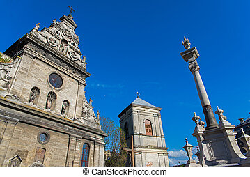 Lviv - architecture of the old city of Lviv
