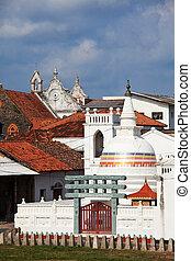 Architecture on Sri Lanka - Galle city , Sri Lanka