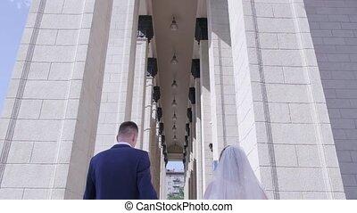 architecture, palefrenier, mariée, marche