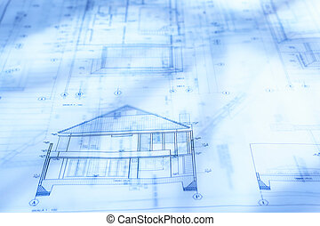 Architecture paperwork architecture blueprint paperwork on stock architecture paperwork malvernweather Image collections
