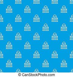 Architecture pattern seamless blue